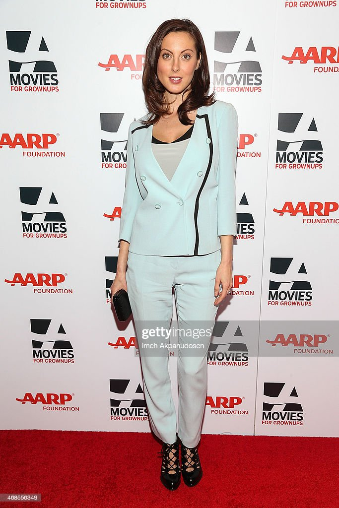 Actress <a gi-track='captionPersonalityLinkClicked' href=/galleries/search?phrase=Eva+Amurri&family=editorial&specificpeople=213733 ng-click='$event.stopPropagation()'>Eva Amurri</a> Martino attends the 13th Annual AARP's Movies For Grownups Awards Gala at Regent Beverly Wilshire Hotel on February 10, 2014 in Beverly Hills, California.