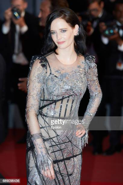 Actress Eva Green after the 'Based On A True Story' screening during the 70th annual Cannes Film Festival at Palais des Festivals on May 27 2017 in...