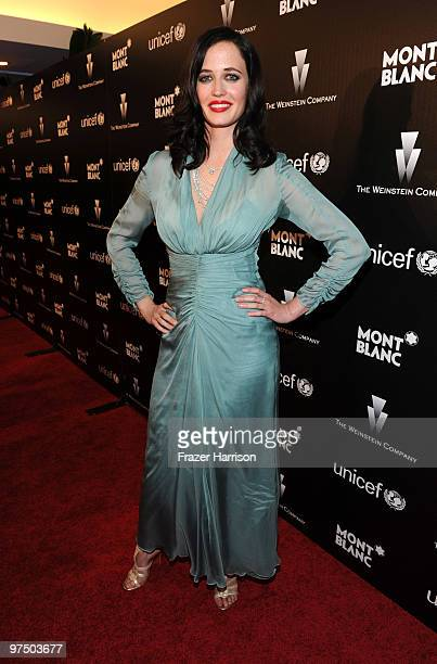 Actress Eva Green arrives at the Montblanc Charity Cocktail Hosted By The Weinstein Company To Benefit UNICEF held at Soho House on California on...