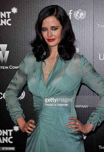 Actress Eva Green arrives at the Montblanc Charity Cocktail Hosted By The Weinstein Company To Benefit UNICEF held at Soho House on March 6 2010 in...