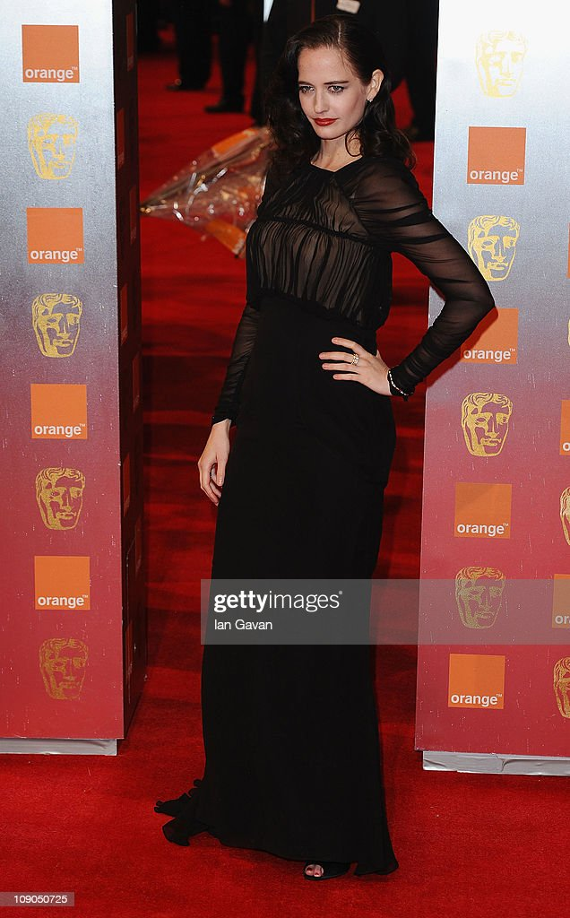 Actress Eva Green attends the 2011 Orange British Academy Film Awards at The Royal Opera House on February 13, 2011 in London, England.