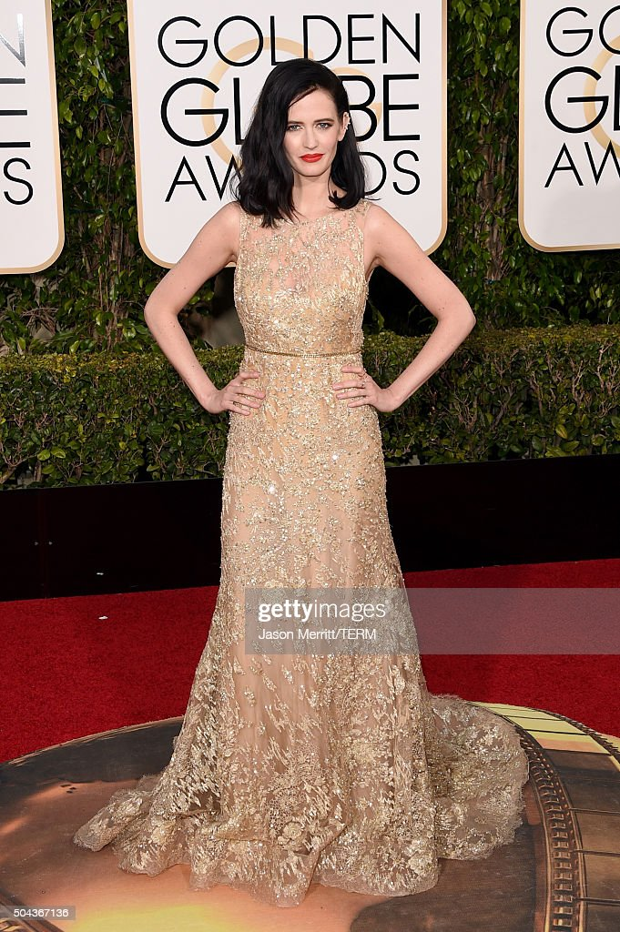 Actress Eva Green attends the 73rd Annual Golden Globe Awards held at the Beverly Hilton Hotel on January 10 2016 in Beverly Hills California