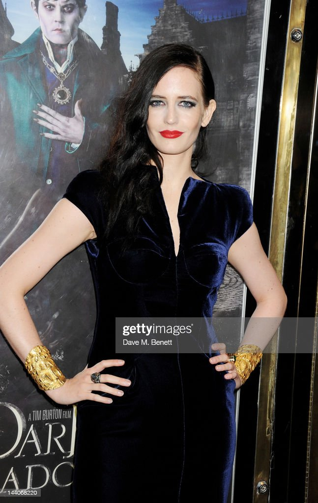 Actress Eva Green attends the European Premiere of 'Dark Shadows' at Empire Leicester Square on May 9, 2012 in London, England.