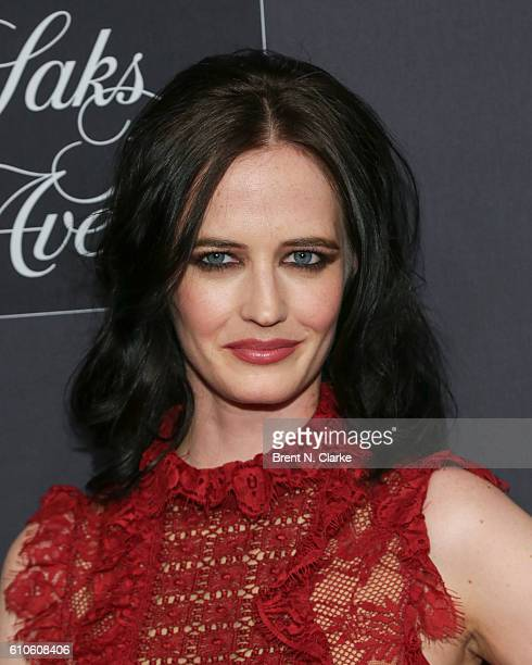 Actress Eva Green attends the 'Miss Peregrine's Home for Peculiar Children' New York premiere held at Saks Fifth Avenue on September 26 2016 in New...