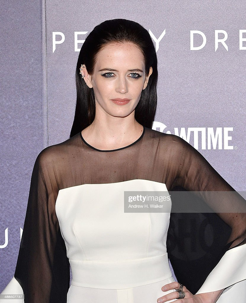 Actress Eva Green attends the 'Penny Dreadful' series world premiere at The Highline Hotel on May 6, 2014 in New York City.