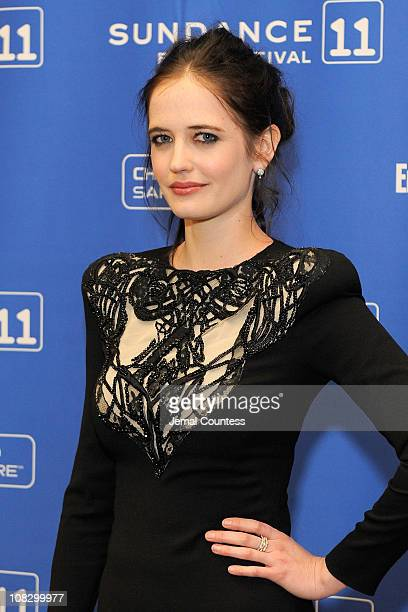 Actress Eva Green attends the 'Perfect Sense' Premiere at Eccles Center Theatre during the 2011 Sundance Film Festival on January 24 2011 in Park...