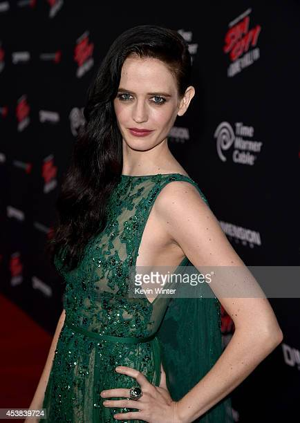 Actress Eva Green attends the premiere of Dimension Films' 'Sin City A Dame To Kill For' at TCL Chinese Theatre on August 19 2014 in Hollywood...