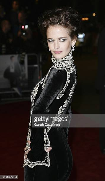 Actress Eva Green attends the Royal Premiere for the 21st James Bond film 'Casino Royale' at the Odeon Leicester Square on November 14 2006 in London