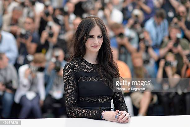 Actress Eva Green attends 'The Salvation' photocall during the 67th Annual Cannes Film Festival on May 17 2014 in Cannes France