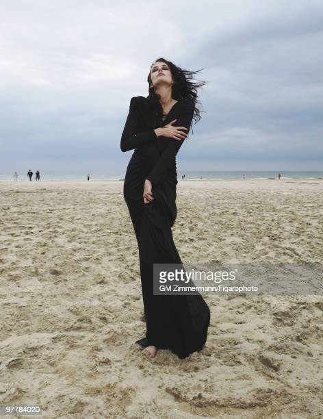 Actress Eva Green poses at a portrait session in Deauville France for Madame Figaro Published image CREDIT MUST READ Gilles Marie...