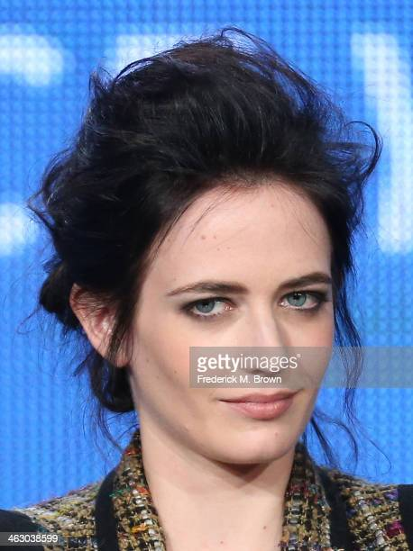 Actress Eva Green speaks onstage during the 'Penny Dreadful' panel discussion at the Showtime portion of the 2014 Winter Television Critics...