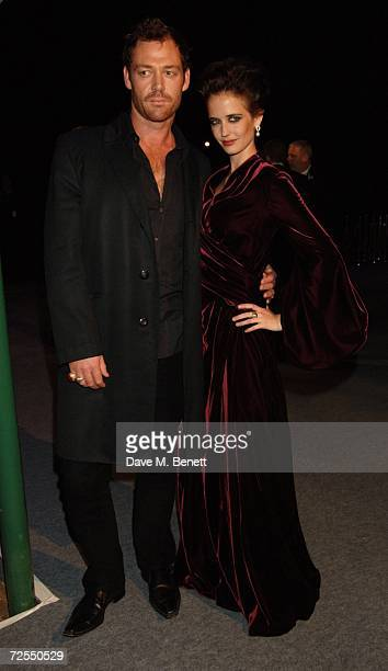 Actress Eva Green with guest attend the after party following the World premiere of the new James Bond film 'Casino Royale' held at Berkeley Square...