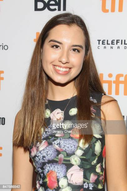Actress Eva Greyeyes attends the 'Indian Horse' premiere during the 2017 Toronto International Film Festival at TIFF Bell Lightbox on September 15...