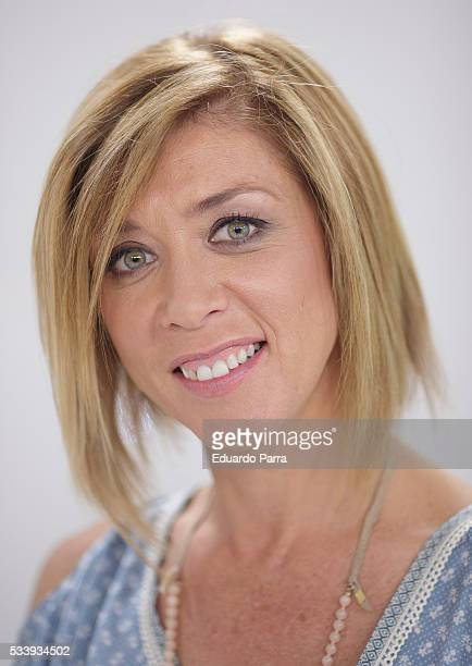 Actress Eva Isanta attends 'El hombre de tu vida' press conference at RTVE studios on May 24 2016 in Madrid Spain