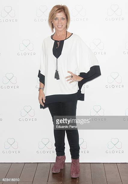 Actress Eva Isanta attends the 'Clover' photocall at Oscar hotel on November 15 2016 in Madrid Spain