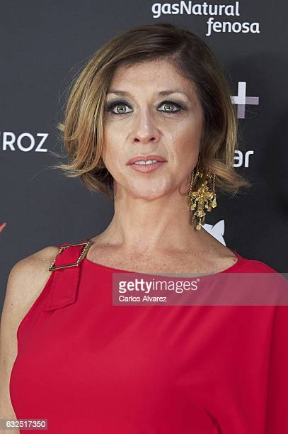 Actress Eva Isanta attends the Feroz cinema awards 2016 at the Duques de Pastrana Palace on January 23 2017 in Madrid Spain