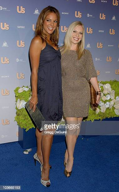 Actress Eva La Rue and actress Emily Procter arrives at the US Weekly Hot Hollywood party at Opera on September 26 2007 in Hollywood California