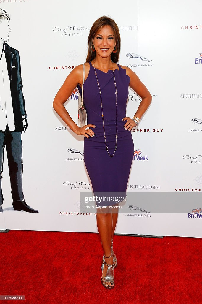 Actress Eva La Rue attends the 7th Annual Britweek: BritWeek Design Icon Award Presentation at Christopher Guy West Hollywood Showroom on April 26, 2013 in West Hollywood, California.