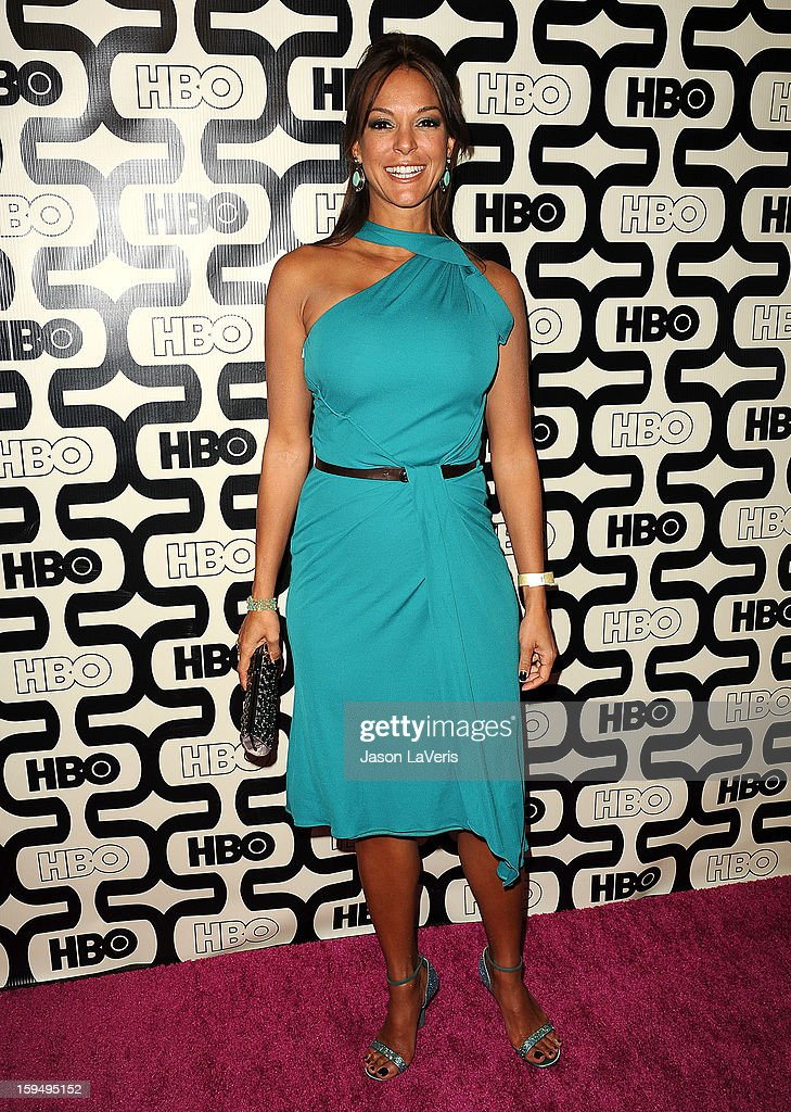 Actress Eva La Rue attends the HBO after party at the 70th annual Golden Globe Awards at Circa 55 restaurant at the Beverly Hilton Hotel on January 13, 2013 in Los Angeles, California.