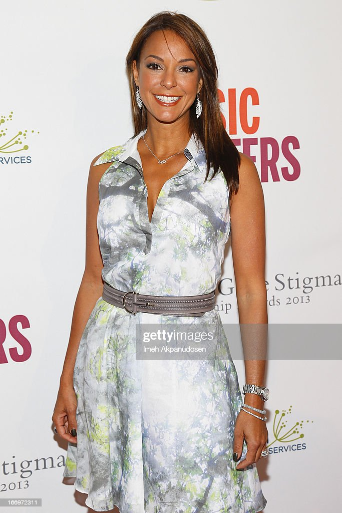 Actress Eva La Rue attends the 'Music Matters' 17th Annual Erasing The Stigma Awards Luncheon Presented By Didi Hirsch Mental Health Services at The Beverly Hilton Hotel on April 18, 2013 in Beverly Hills, California.