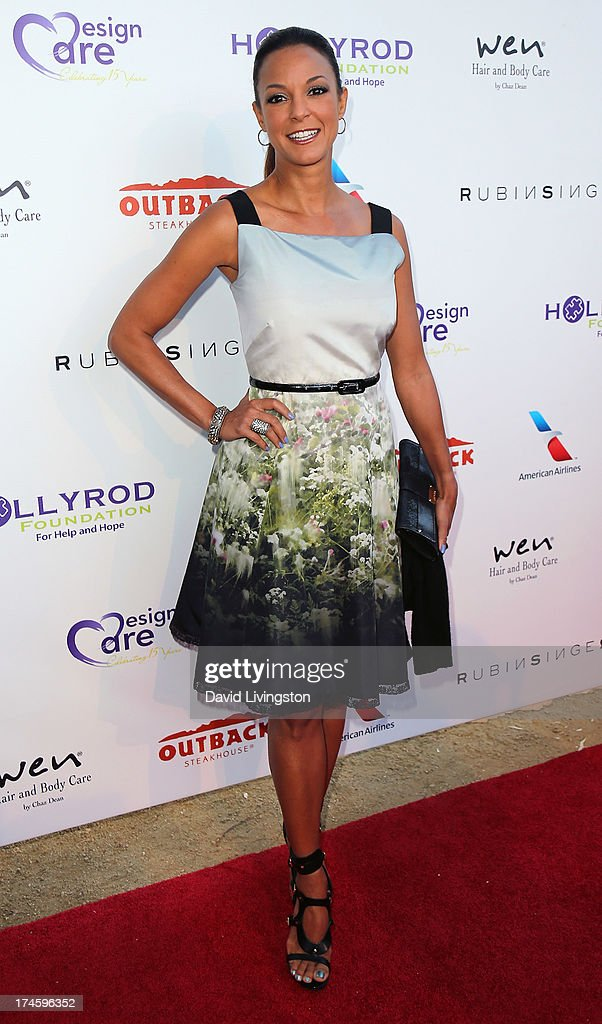 Actress Eva LaRue attends the 15th Annual DesignCare on July 27, 2013 in Malibu, California.