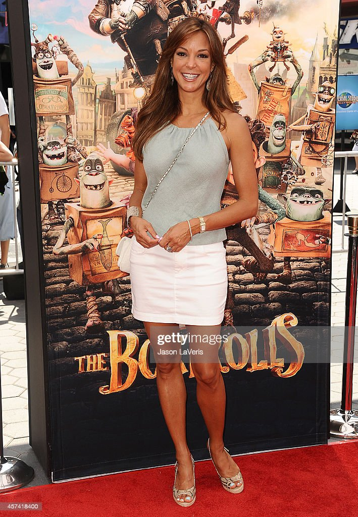 Actress <a gi-track='captionPersonalityLinkClicked' href=/galleries/search?phrase=Eva+LaRue&family=editorial&specificpeople=226694 ng-click='$event.stopPropagation()'>Eva LaRue</a> attends the premiere of 'The Boxtrolls' at Universal CityWalk on September 21, 2014 in Universal City, California.