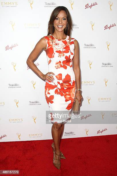 Actress Eva LaRue attends the Television Academy's Performers Peer Group Hold Cocktail Reception To Celebrate 67th Emmy Awards held at Montage...