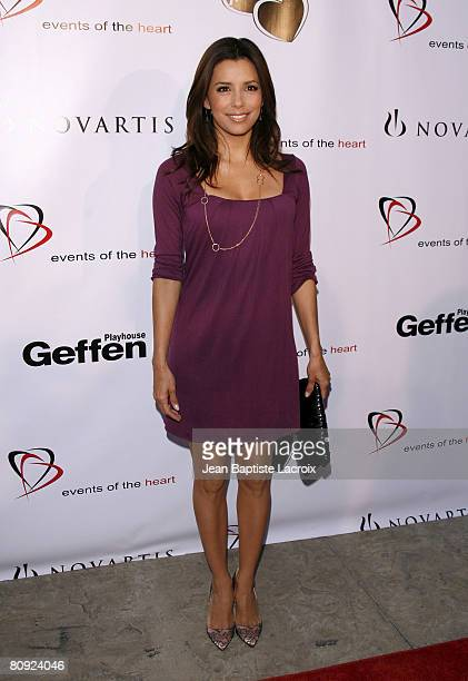 Actress Eva Longoria arrives at 'Events Of The Heart' at The Geffen Playhause on April 28 2008 in Westwood California