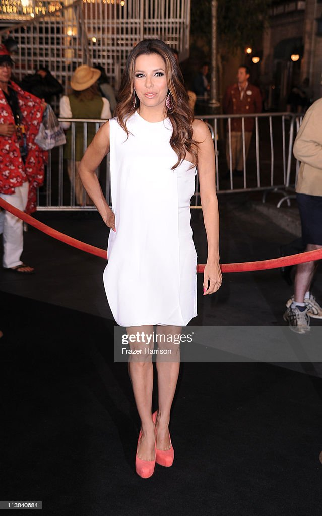 Actress <a gi-track='captionPersonalityLinkClicked' href=/galleries/search?phrase=Eva+Longoria&family=editorial&specificpeople=202082 ng-click='$event.stopPropagation()'>Eva Longoria</a> arrives at premiere of Walt Disney Pictures' 'Pirates of the Caribbean: On Stranger Tides' held at Disneyland on May 7, 2011 in Anaheim, California. Proceeds from the world premiere of Walt Disney Pictures' 'Pirates Of The Caribbean: On Stranger Tides' will benefit the Boys & Girls Clubs of America