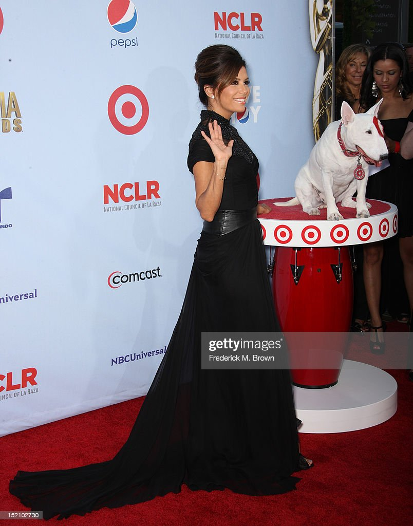 Actress Eva Longoria arrives at the 2012 NCLR ALMA Awards at Pasadena Civic Auditorium on September 16, 2012 in Pasadena, California.