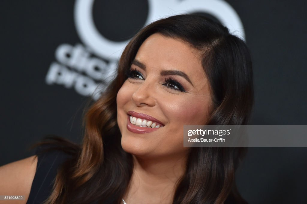 Actress Eva Longoria arrives at the 21st Annual Hollywood Film Awards at The Beverly Hilton Hotel on November 5, 2017 in Beverly Hills, California.