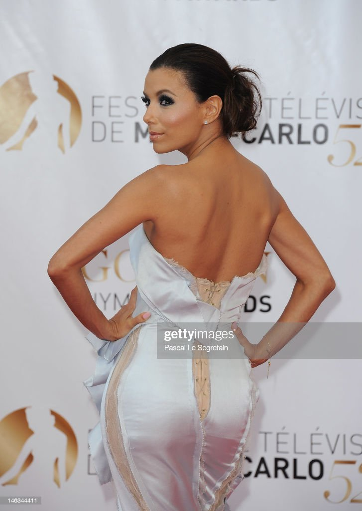 Actress Eva Longoria arrives at the Closing Ceremony of the 52nd Monte Carlo TV Festival on June 14, 2012 in Monte-Carlo, Monaco.