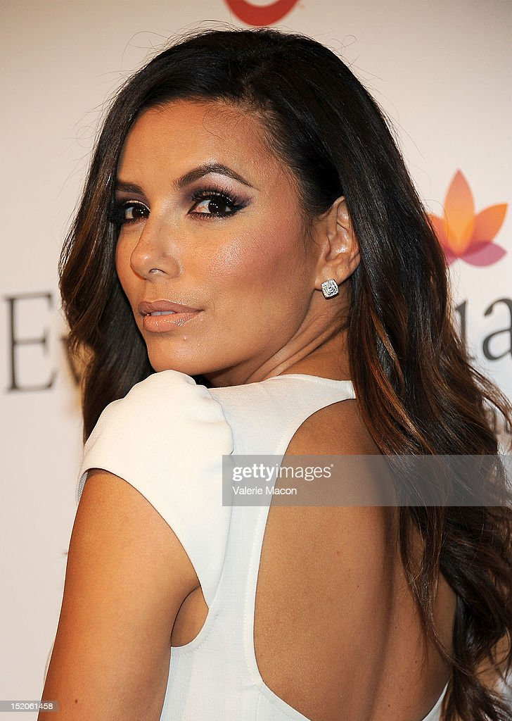 Actress Eva Longoria arrives at The Eva Longoria Foundation's Pre-ALMA Awards Dinner Presented By Target on September 15, 2012 in Los Angeles, California.