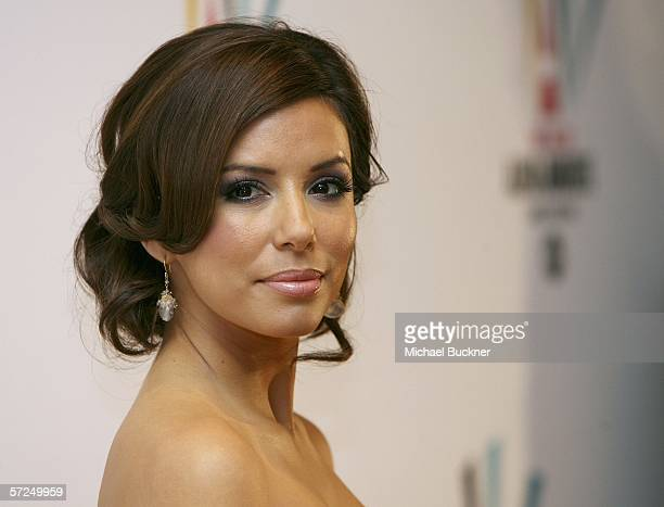 Actress Eva Longoria arrives at the NCLR ALMA Awards nominee announcements at the Penninsula Hotel on April 4 2006 in Beverly Hills California
