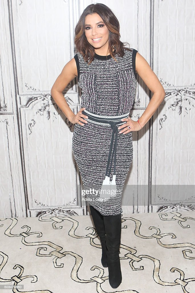 Actress Eva Longoria attends at AOL Studios In New York on January 5 2016 in New York City