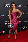 Actress Eva Longoria attends Canon's 'Project Imaginat10n' Film Festival opening night at Alice Tully Hall at Lincoln Center on October 24 2013 in...