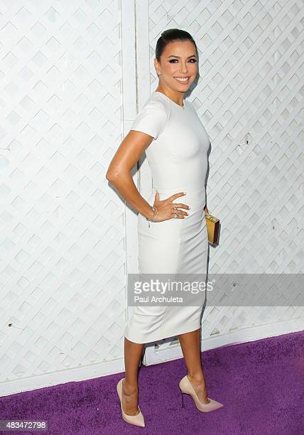 Actress Eva Longoria attends HollyRod Foundation's 17th Annual DesignCare Gala at The Lot Studios on August 8 2015 in Los Angeles California