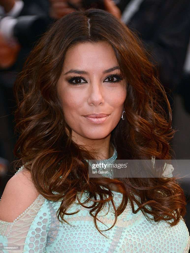 Actress Eva Longoria attends 'Jimmy P. (Psychotherapy Of A Plains Indian)' Premiere during the 66th Annual Cannes Film Festival at Grand Theatre Lumiere on May 18, 2013 in Cannes, France.