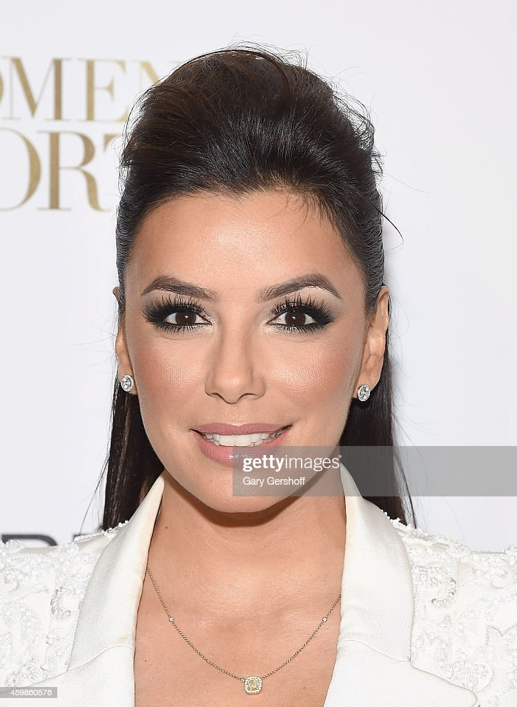 Actress Eva Longoria attends L'Oreal Paris' Ninth Annual Women Of Worth Awards at The Pierre Hotel on December 2 2014 in New York City