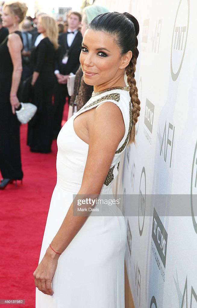 Actress Eva Longoria attends the 2014 AFI Life Achievement Award: A Tribute to Jane Fonda at the Dolby Theatre on June 5, 2014 in Hollywood, California. Tribute show airing Saturday, June 14, 2014 at 9pm ET/PT on TNT.