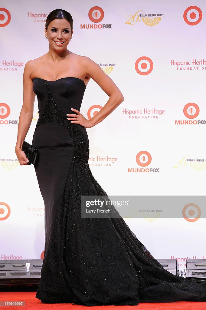 Actress <a gi-track='captionPersonalityLinkClicked' href=/galleries/search?phrase=Eva+Longoria&family=editorial&specificpeople=202082 ng-click='$event.stopPropagation()'>Eva Longoria</a> attends the 26th Annual Hispanic Heritage Awards presented by Target at the John F. Kennedy Center for the Performing Arts on September 5, 2013 in Washington, DC.