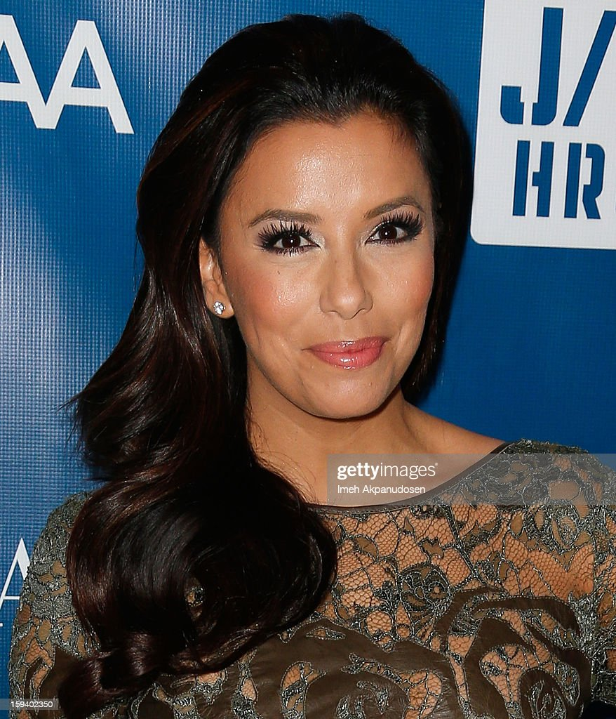 Actress <a gi-track='captionPersonalityLinkClicked' href=/galleries/search?phrase=Eva+Longoria&family=editorial&specificpeople=202082 ng-click='$event.stopPropagation()'>Eva Longoria</a> attends the 2nd Annual Sean Penn and Friends Help Haiti Home Gala benefiting J/P HRO presented by Giorgio Armani at Montage Hotel on January 12, 2013 in Los Angeles, California.