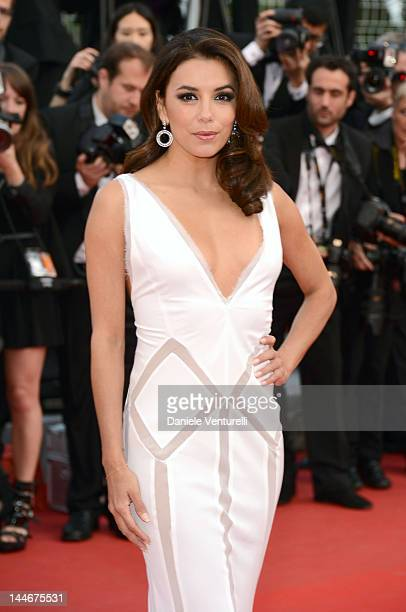 Actress Eva Longoria attends the 'De Rouille et D'os' Premiere during the 65th Annual Cannes Film Festival at Palais des Festivals on May 17 2012 in...