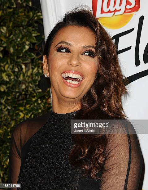 Actress Eva Longoria attends the 'Do Us A Flavor' contest winner announcement at Beso on May 6 2013 in Hollywood California