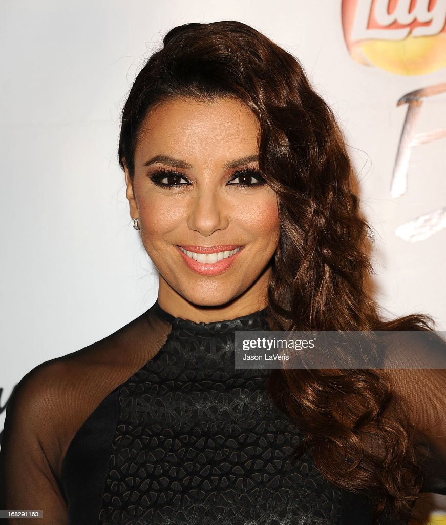 Actress Eva Longoria attends the 'Do Us A Flavor' contest winner announcement at Beso on May 6, 2013 in Hollywood, California.