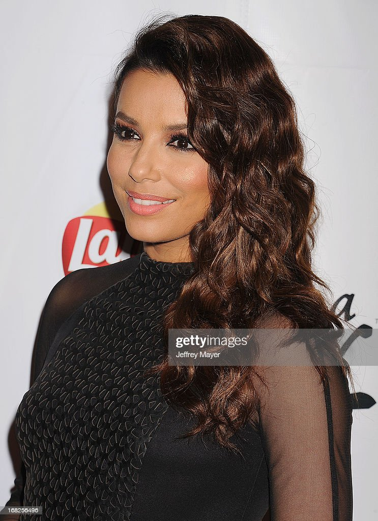 Actress <a gi-track='captionPersonalityLinkClicked' href=/galleries/search?phrase=Eva+Longoria&family=editorial&specificpeople=202082 ng-click='$event.stopPropagation()'>Eva Longoria</a> attends the <a gi-track='captionPersonalityLinkClicked' href=/galleries/search?phrase=Eva+Longoria&family=editorial&specificpeople=202082 ng-click='$event.stopPropagation()'>Eva Longoria</a> announces contest winner for 'Lay's 'Do Us A Flavor' Contest at Beso on May 6, 2013 in Hollywood, California.