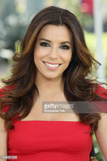Actress Eva Longoria attends the NBCUniversal summer press day held at The Langham Huntington Hotel and Spa on April 18 2012 in Pasadena California
