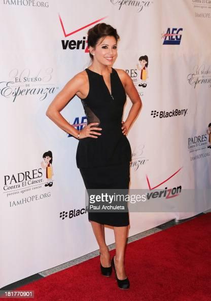 Actress Eva Longoria attends the Padres Contra El Cancer 13th annual 'El Sueno De Esperanza' Gala on September 24 2013 in Los Angeles California