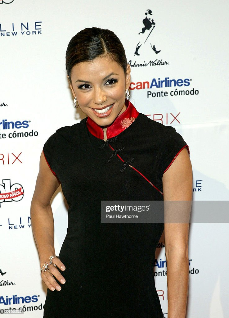 Actress Eva Longoria attends the 'People En Espanol' 50 Most Beautiful People Gala at Splashlight Studios May 19, 2004 in New York City.