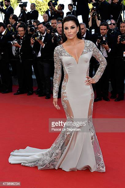 Actress Eva Longoria attends the Premiere of 'Inside Out' during the 68th annual Cannes Film Festival on May 18 2015 in Cannes France
